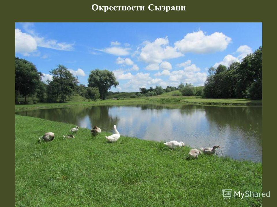 Окрестности Сызрани