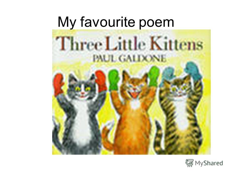 My favourite poem