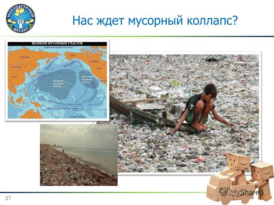 37 Мусорный остров Нас ждет мусорный коллапс?