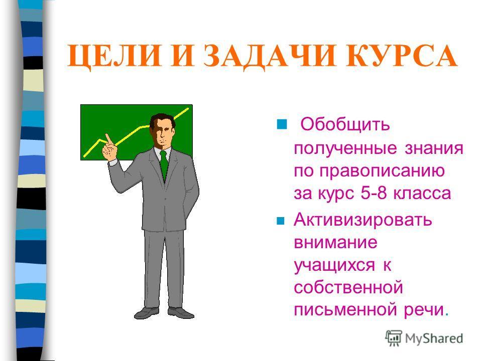 Учись писать грамотно nЭnЭлективные курсы по русскому языку