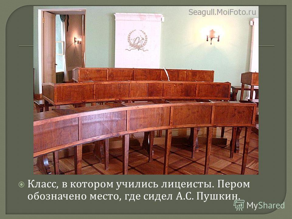 Комната N 14: « Александр Пушкин ».