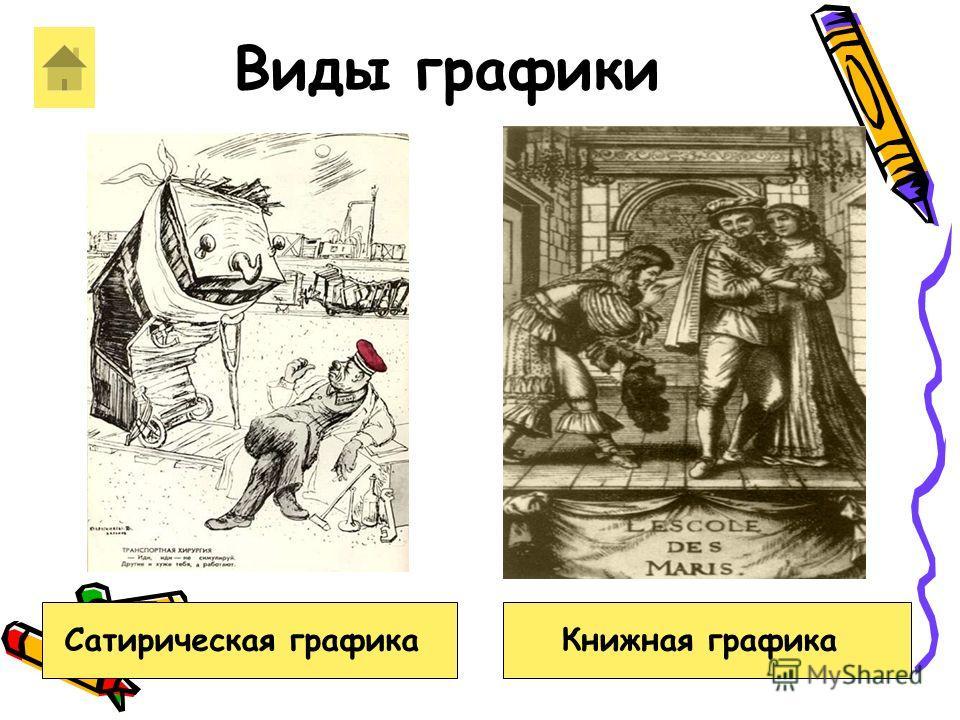 Виды графики Книжная графикаСатирическая графика