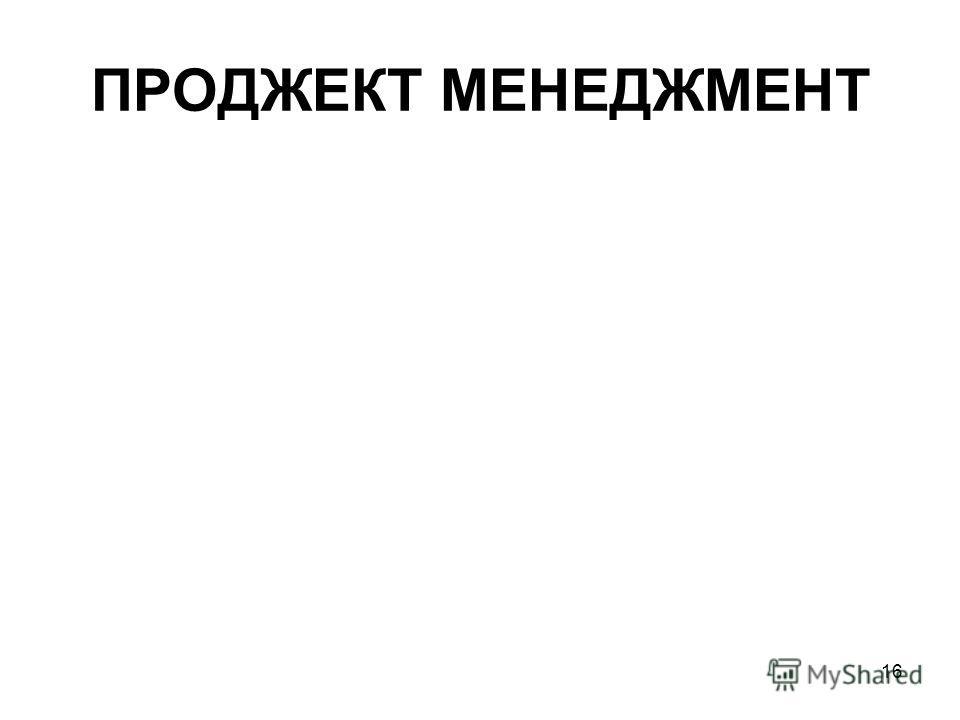 16 ПРОДЖЕКТ МЕНЕДЖМЕНТ
