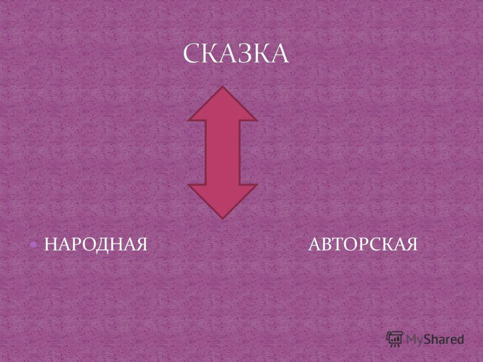 НАРОДНАЯ АВТОРСКАЯ