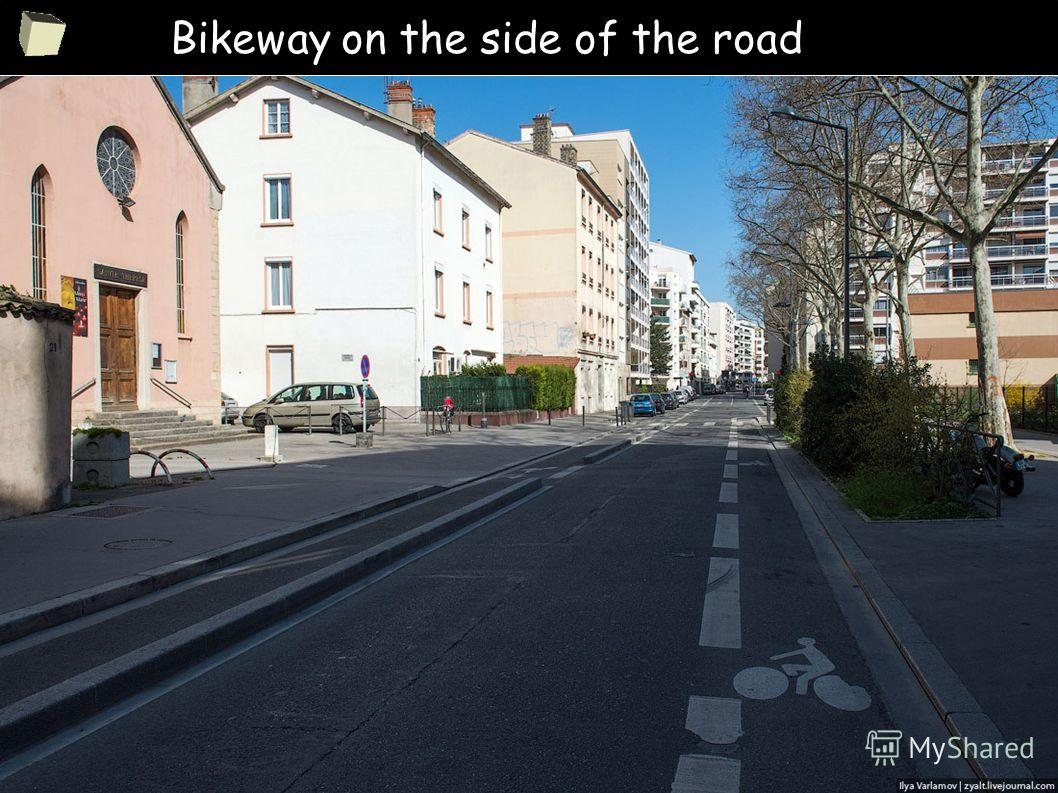 5 Bikeway on the side of the road
