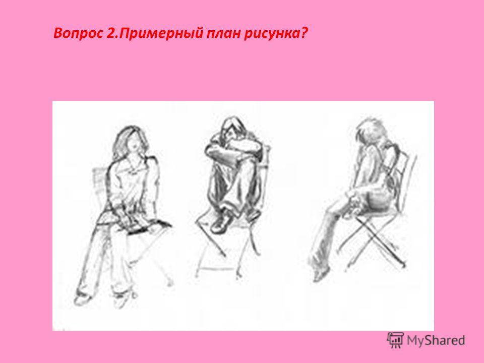 Вопрос 2.Примерный план рисунка?