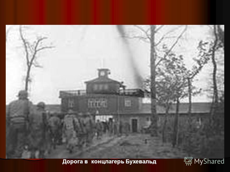 Дорога в концлагерь Бухевальд