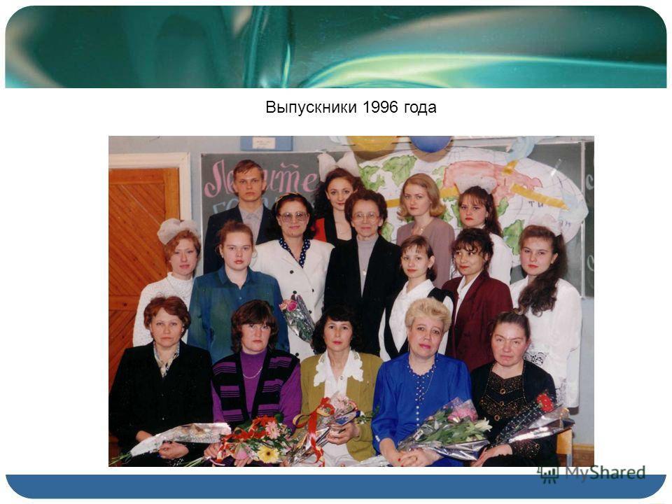 Выпускники 1996 года