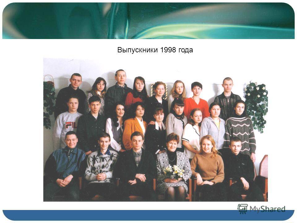 Выпускники 1998 года