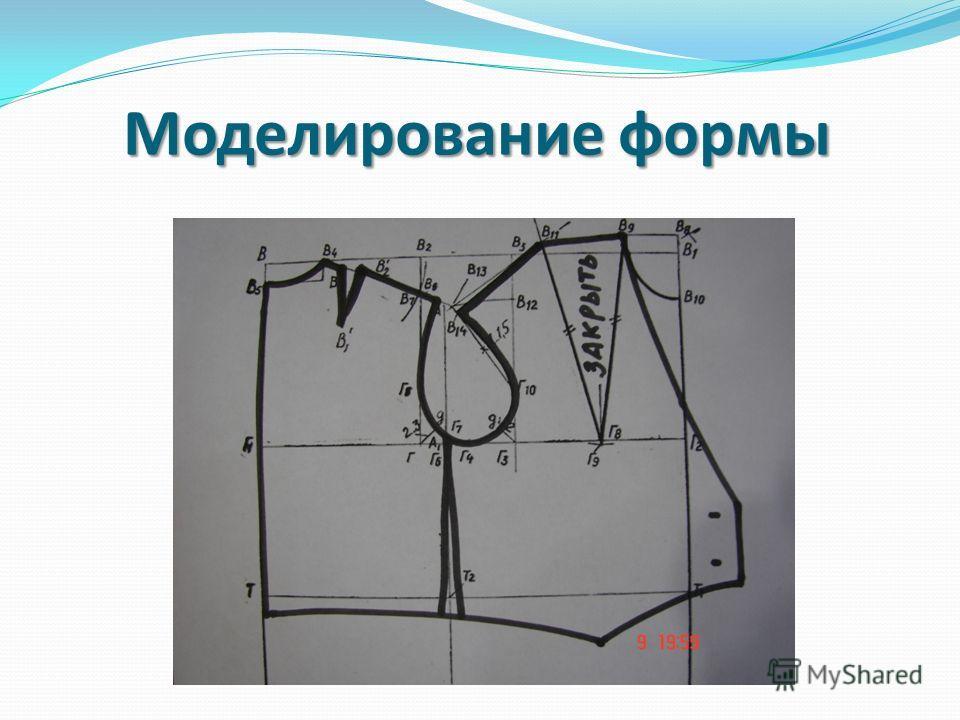 Моделирование формы