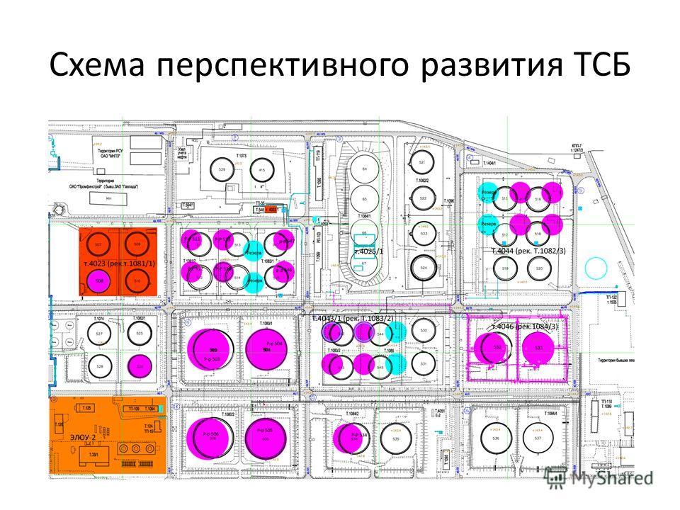 Схема перспективного развития ТСБ