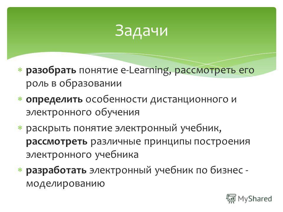 Презентация на тему Реализация e learning по бизнес  3 разобрать понятие