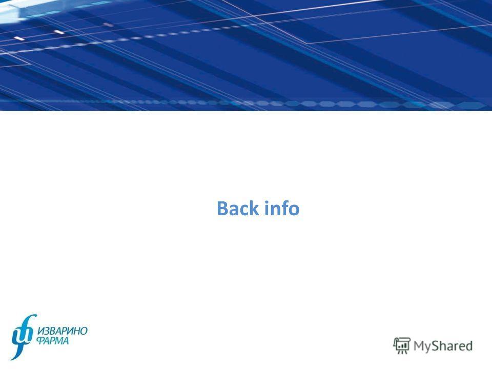Back info