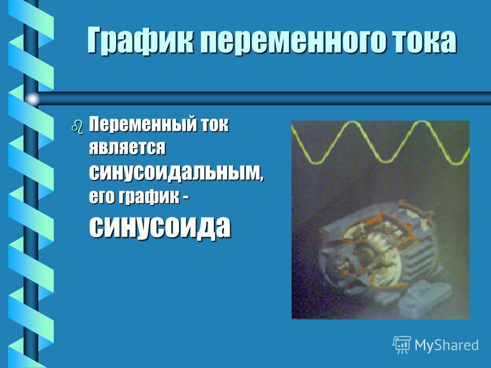 Принцип получения Принцип получения bВbВbВbВ основе получения переменного тока лежит явление электромагнитной индукции, которое открыл английский экспериментатор b М айкл фарадей