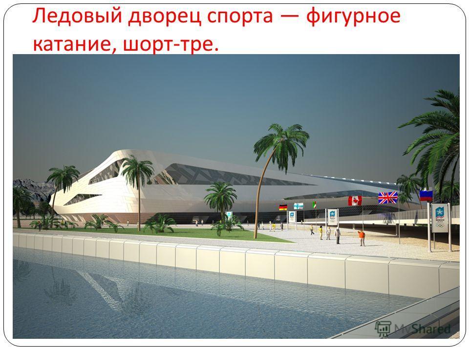 Ледовый дворец спорта фигурное катание, шорт - тре.