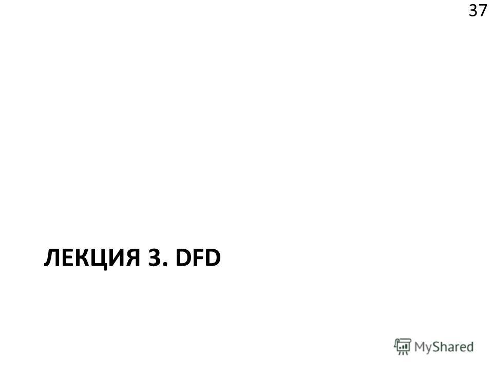 ЛЕКЦИЯ 3. DFD 37