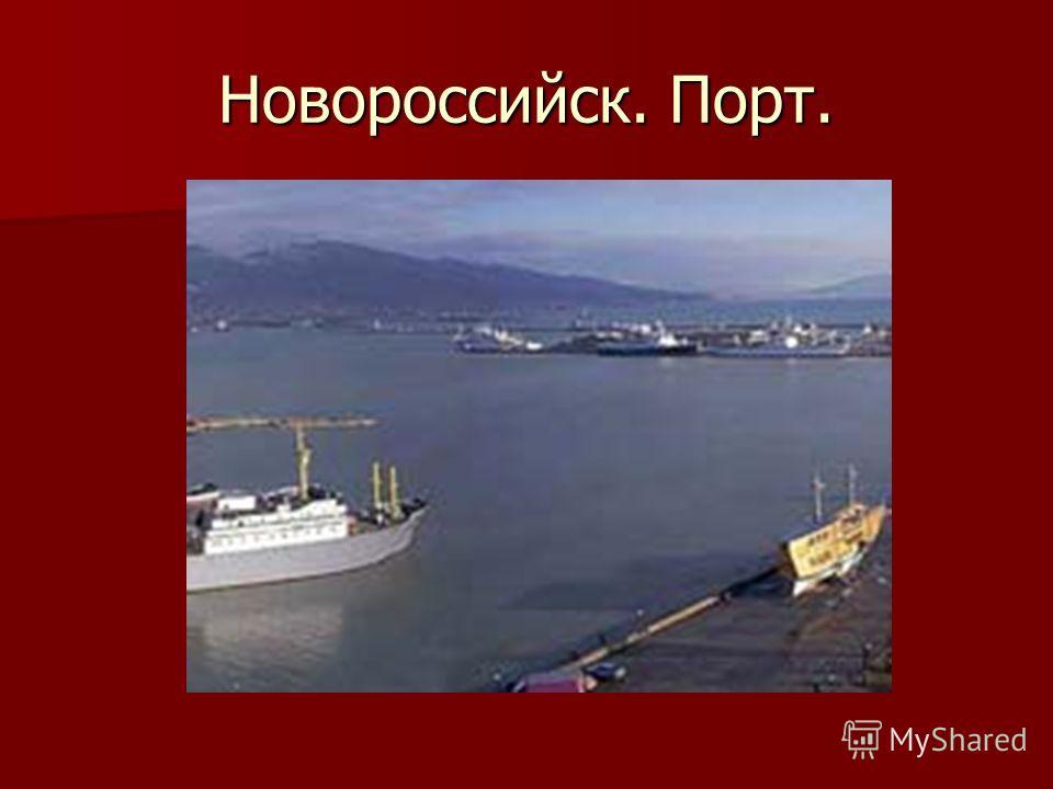 Новороссийск. Порт.