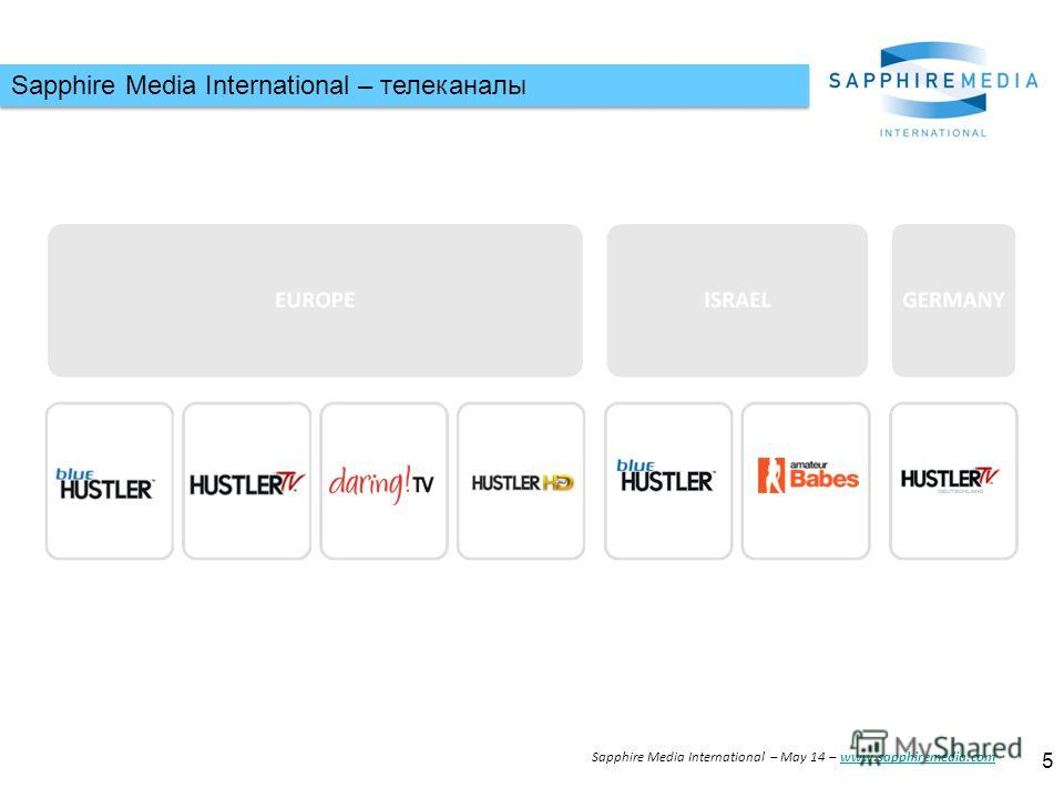 Sapphire Media International – телеканалы 5 Sapphire Media International – May 14 – www.sapphiremedia.comwww.sapphiremedia.com