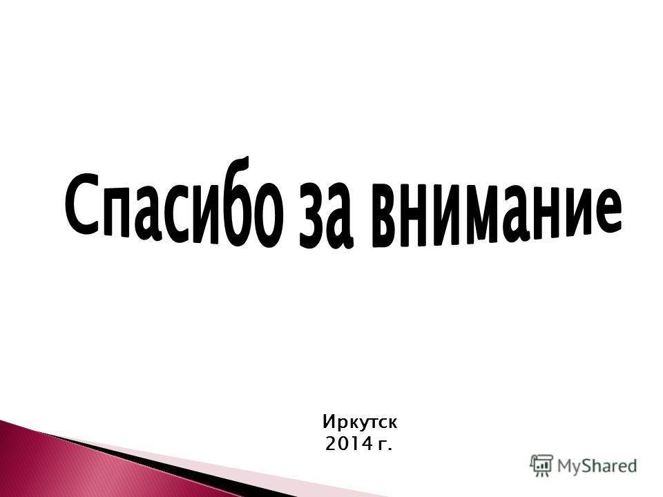Иркутск 2014 г.