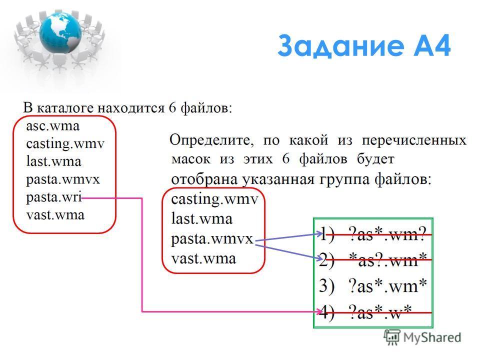 Задание А4