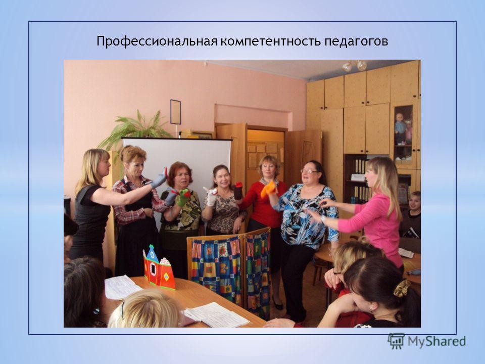 Профессиональная компетентность педагогов