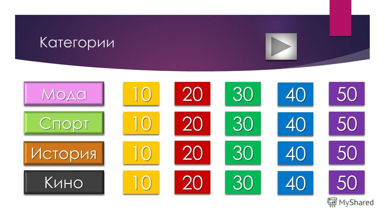 Категории МодаМода СпортСпорт ИсторияИстория КиноКино 10 20 30 40 50 10 20 30 40 50 10 20 30 40 50 10 20 30 40 50