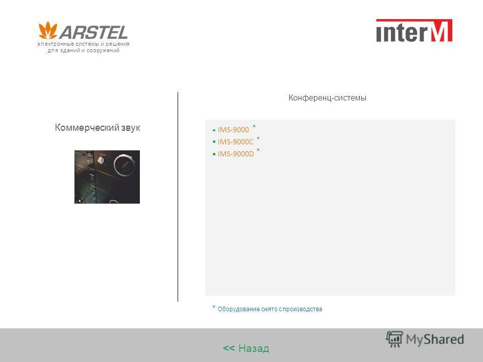 Коммерческий звук Конференц-системы IMS-9000C IMS-9000 IMS-9000D