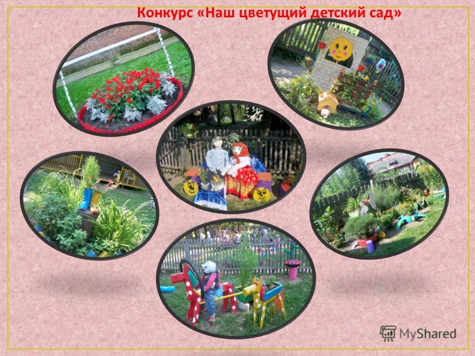 Конкурс « Наш цветущий детский сад »