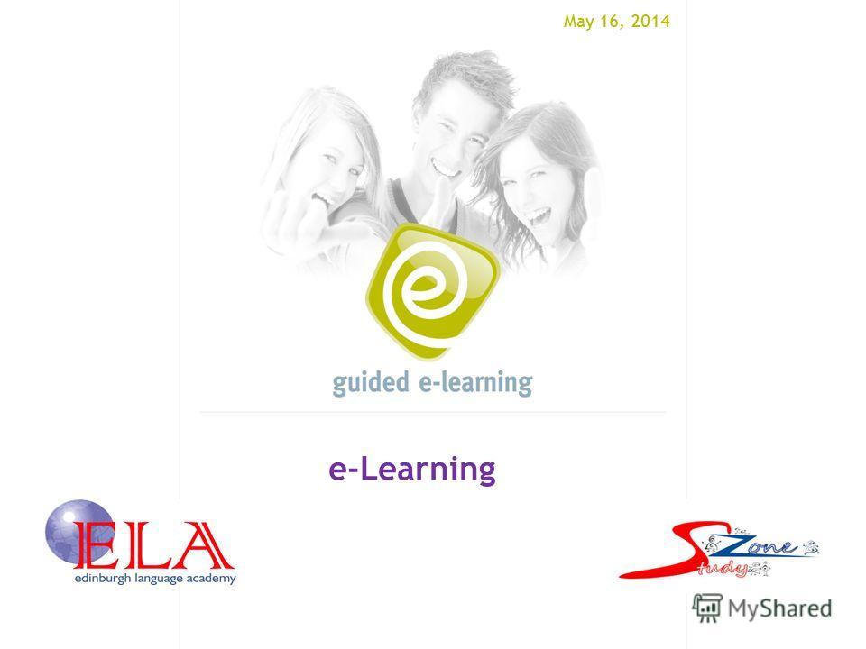 May 16, 2014 e-Learning