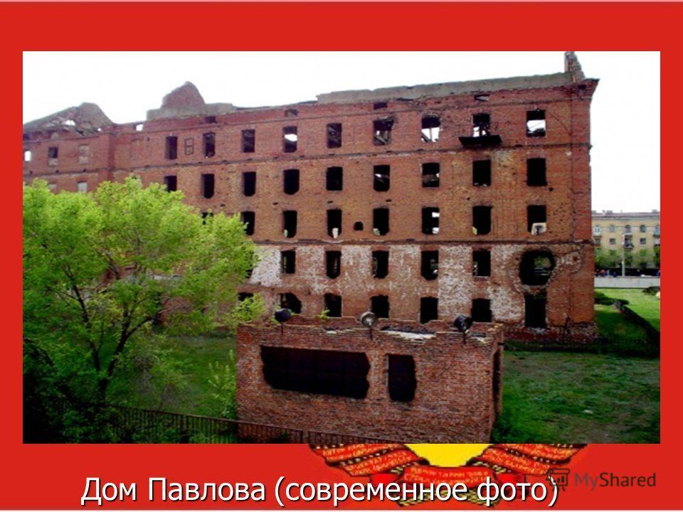 Дом Павлова (современное фото) Дом Павлова (современное фото)
