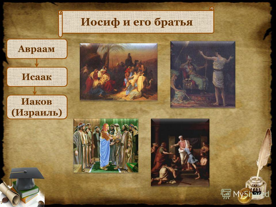 Иосиф и его братья Авраам Исаак Иаков (Израиль)