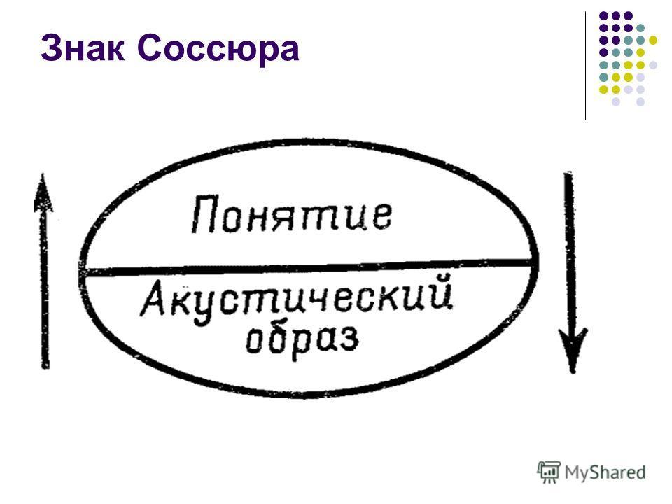 Знак Соссюра
