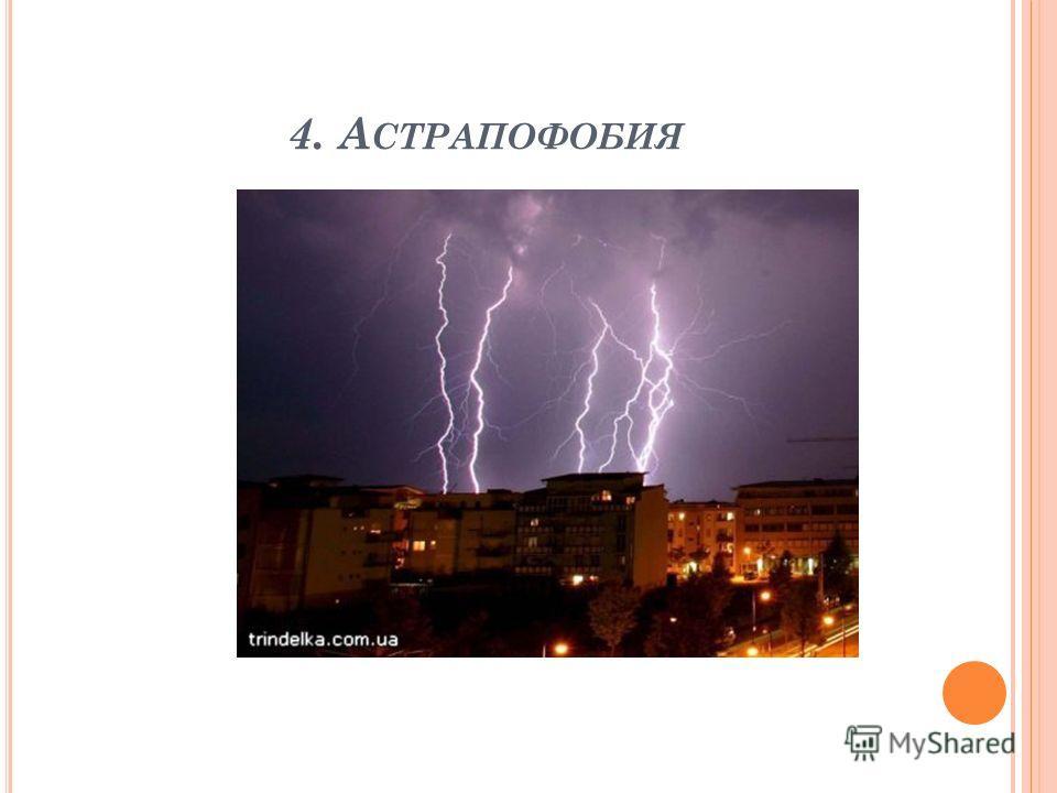 4. А СТРАПОФОБИЯ