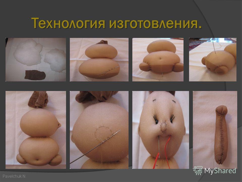 Технология изготовления. Технология изготовления. Pavelchuk N.
