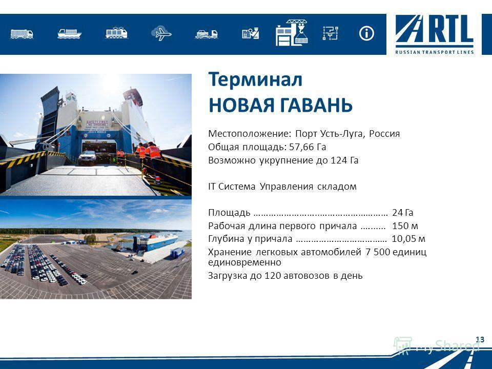 Порт Усть-Луга,