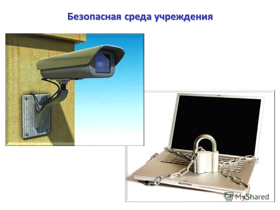 Безопасная среда учреждения