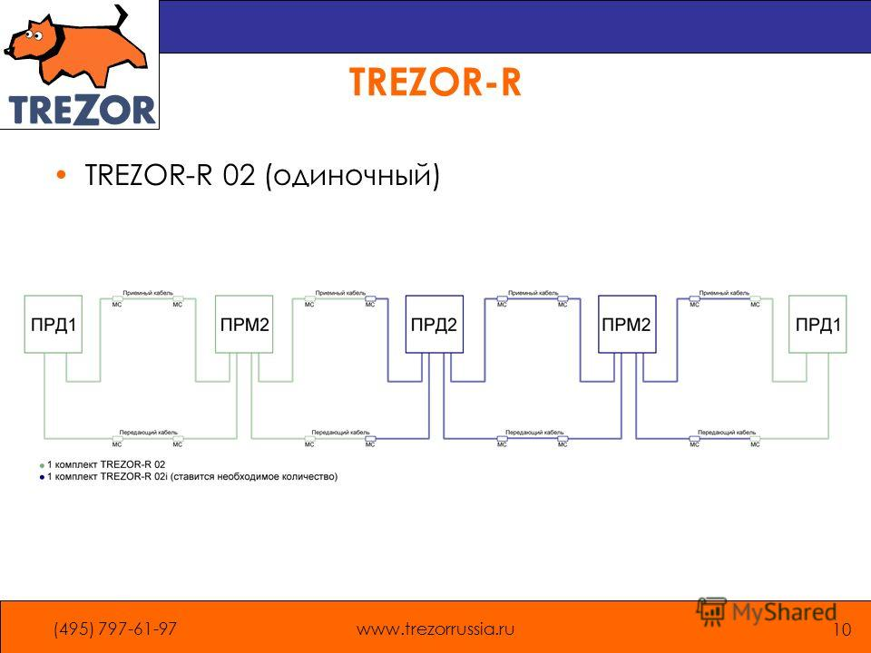 (495) 797-61-97www.trezorrussia.ru 10 TREZOR-R TREZOR-R 02 (одиночный)