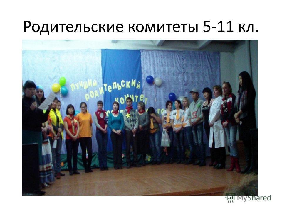 Родительские комитеты 1-4 классов