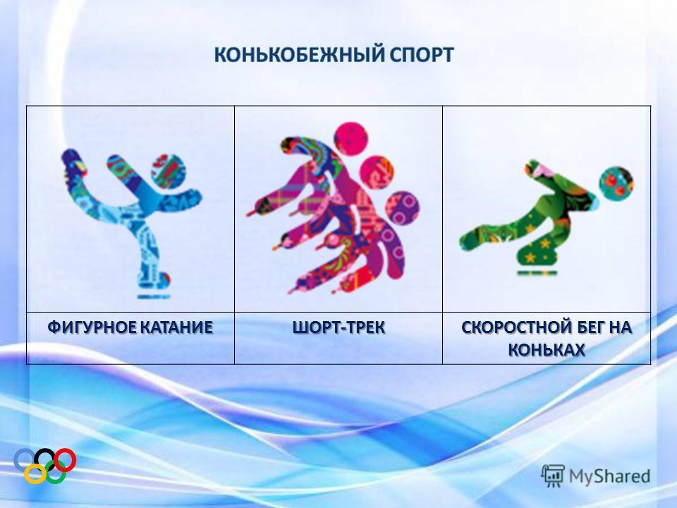 ФИГУРНОЕ КАТАНИЕ ШОРТ-ТРЕК СКОРОСТНОЙ БЕГ НА КОНЬКАХ