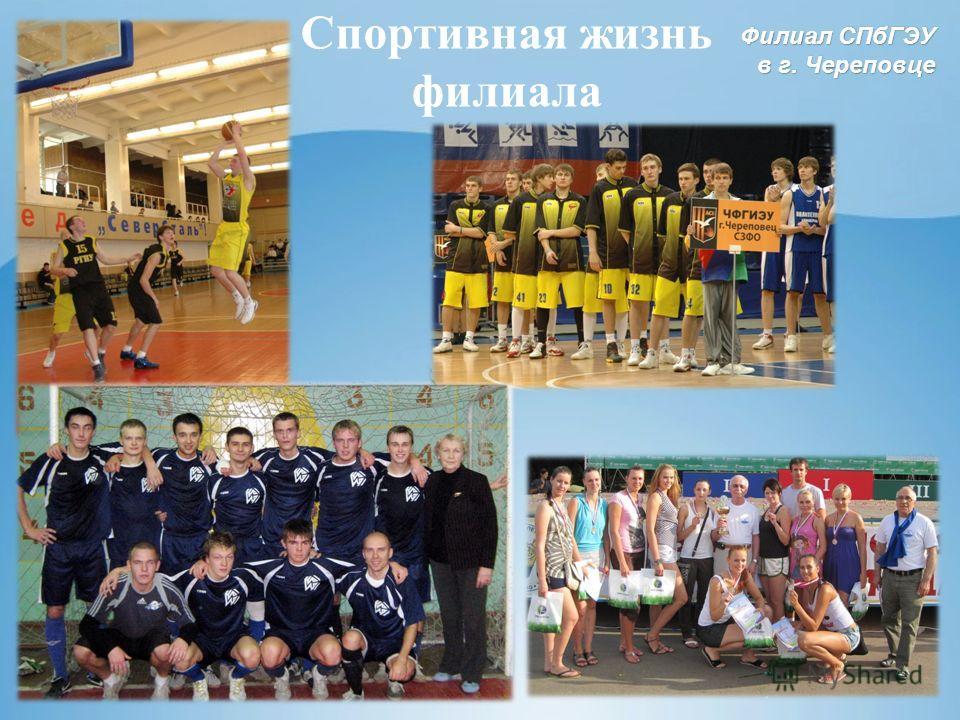 Филиал СПбГЭУ в г. Череповце Спортивная жизнь филиала