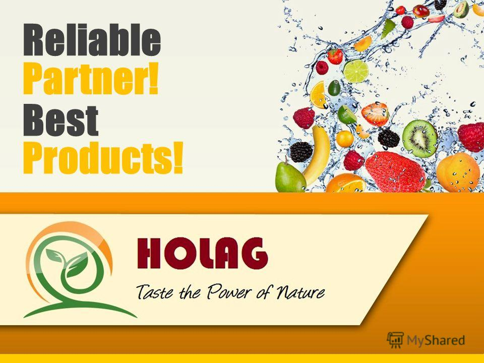 Reliable Best Products! Partner!