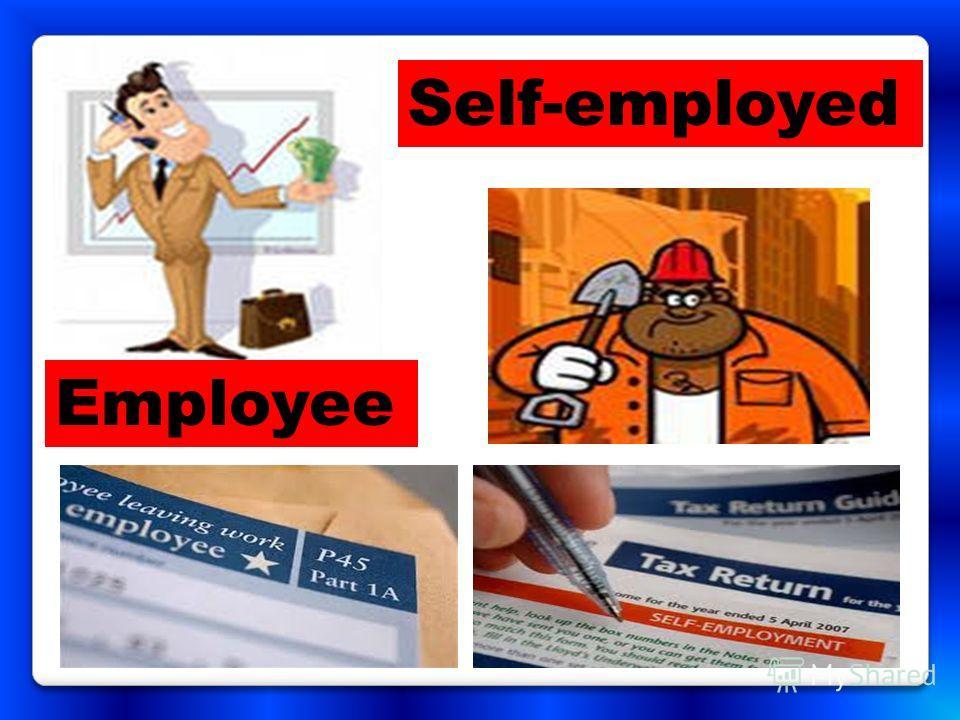 Employee Self-employed
