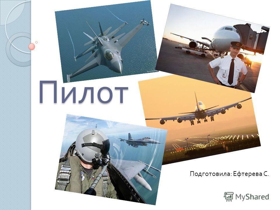 Пилот Подготовила : Ефтерева С.
