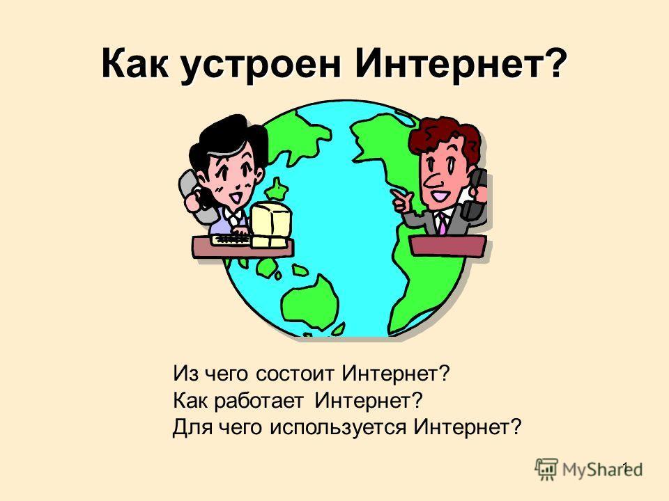 1 Как устроен Интернет? Из чего состоит Интернет? Как работает Интернет? Для чего используется Интернет?