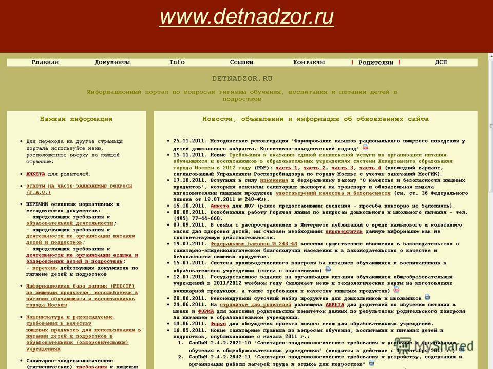 www.detnadzor.ru