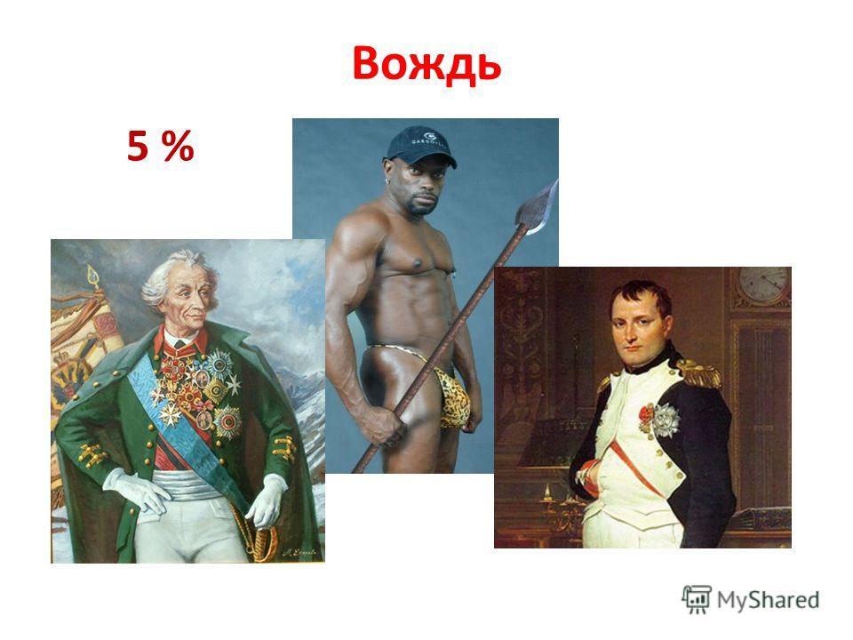 Вождь 5 %