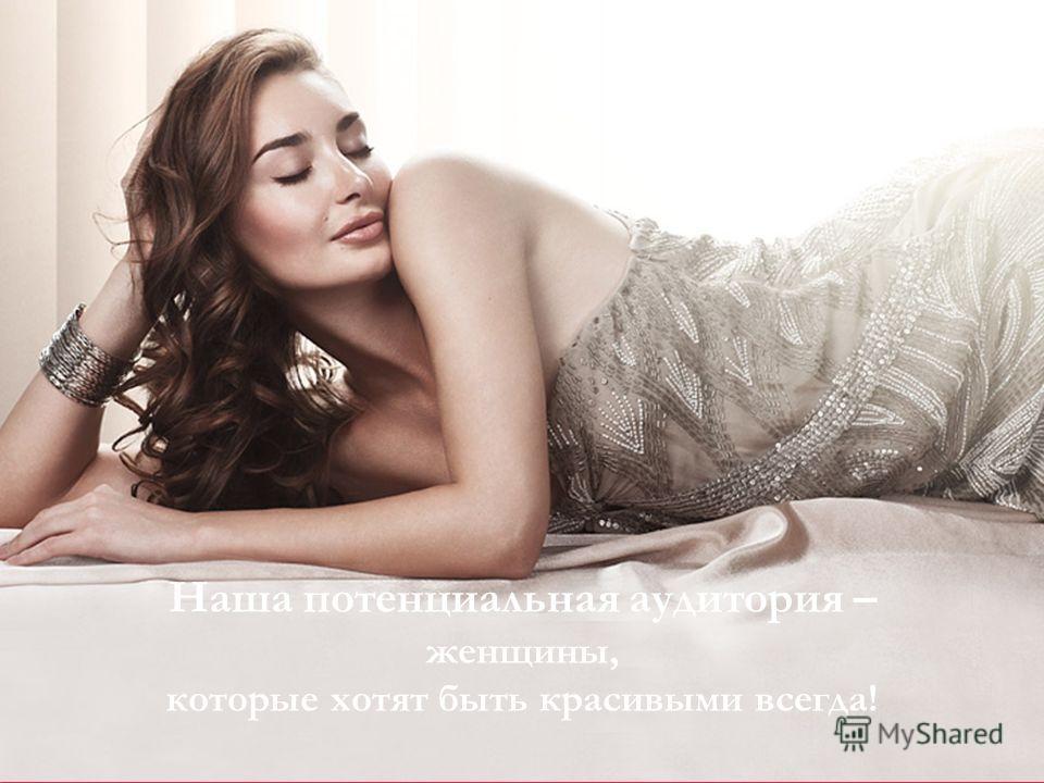 Декоративная косметика Faberlic Наша потенциальная аудитория – женщины, которые хотят быть красивыми всегда!