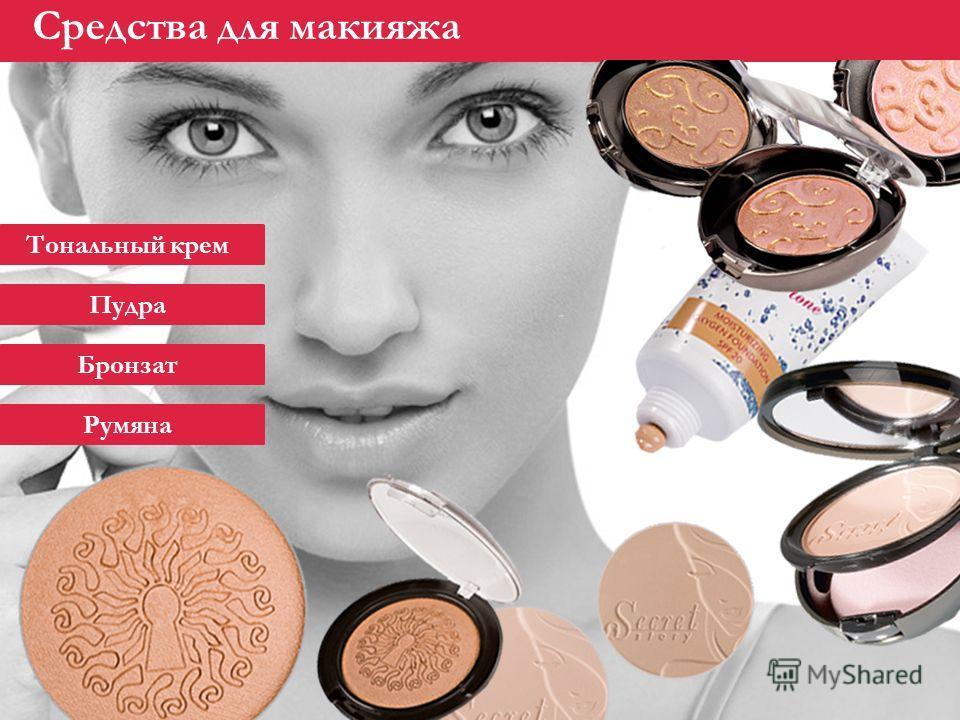 Декоративная косметика Faberlic Средства для макияжа Тональный крем Пудра Бронзат Румяна
