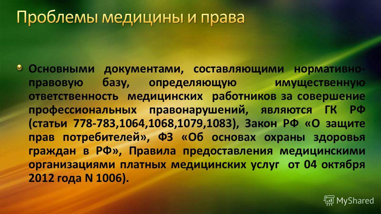гк рф 1064: