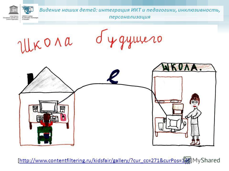 Видение наших детей: интеграция ИКТ и педагогики, инклюзивность, персонализация [http://www.contentfiltering.ru/kidsfair/gallery/?cur_cc=271&curPos=140]http://www.contentfiltering.ru/kidsfair/gallery/?cur_cc=271&curPos=140